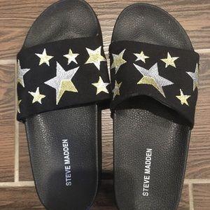 Steve Madden Star Slides